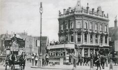 The pub changed its name from Mother Red Cap to World's End some time in the 1990's, I think. See the next picture in this set for a then and now view. (N.B. This picture is from the Camden Town set, which includes photos taken in 1901,1927, the 30's and the 1940's bomb damage to the tube station. The rest are views of the Camden area in the 1950's, with many of them, 'then and now' pics. Click here to see the full set www.flickr.com/photos/59082098@N05&...