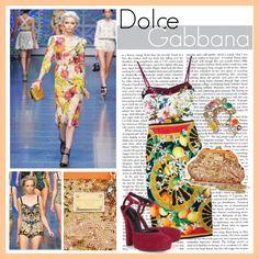 """Dolce & Gabbana Fall 2011 RTW"" by dominikaf on Polyvore"