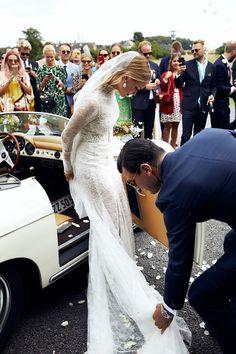 A Family Affair: Stylist Pernille Teisbaek's Wedding on an Island Off the Coast of Denmark