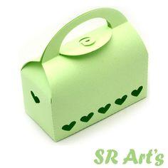 Silhouette - Bolsa 3d Box Top Redondo Detalhe em Coração