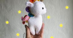 Hace unas semanas conocí a Ms. Eni por Instagram y su hermoso patrón gratuito de unicornio , que lamentablemente estaba en alemán. Cuando ...