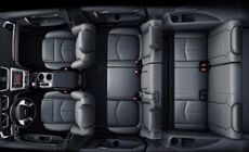 2014 GMC Acadia comes standard with seating for up to 8 and the flexibility of SmartSlide seating