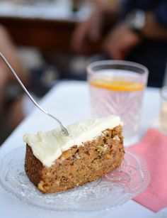 Graz: Restaurant-Guide. Karottenkuchen bei der süßen Luise. Mehr dazu hier: http://piximitmilch.at
