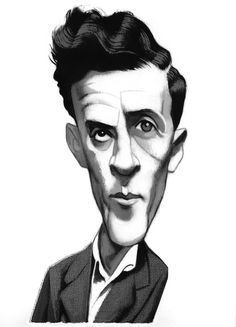 Portraits - Caricatures II by Fernando Vicente, via Behance