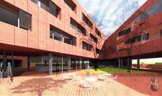 Óbudai diákszálló és inkubátorház terve Basketball, Netball