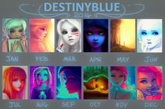 In 2014 Blue Drew... by DestinyBlue.deviantart.com on @DeviantArt