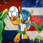 Brasil 2014: Día 21 Por el quincuagésimo noveno partido del mundial Holanda le ganó a Costa Rica en los penales 4-3 y es el rival de la Argentina