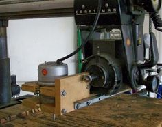 Picture of Pin Router for a Sears Radial Arm Saw