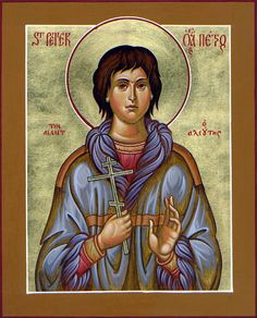 Cungagnaq ~ AleutCungagnaq (date of birth unknown – d. 1815) is venerated as a martyr and saint (as Peter the Aleut) by some jurisdictions of the Eastern Orthodox Church. He was allegedly a native of Kodiak Island (Alutiiq or Sugpiaq), and is said to have received the Christian name of Peter when he was baptized into the Orthodox faith by the monks of St.