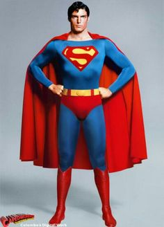1c69a8cb9d Superman the Movie Man of Steel Christopher Reeve DC Comics Superheroes  Superhero
