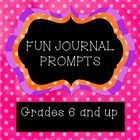 This is a set of journal prompts that are divided into two different categories: Quotes Little known, but interesting facts  When using the quotes ...