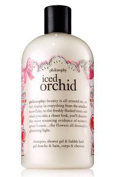 philosophy 'iced orchid' shampoo, shower gel & bubble bath (Limited Edition) available at #Nordstrom