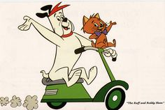 The Ruff and Reddy Show (also known as Ruff and Reddy) is an American animated television series created by William Hanna and Joseph Barbera for NBC.Ruff and Reddy premiered in December 1957 and ran for fifty episodes until April 1960.