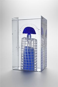 Oiva Toikka -verkkonäyttely Glass Cube, Glass Art, Steven Weinberg, Sculpture Art, Sculptures, Yves Klein Blue, Kosta Boda, Jiyong, Factories