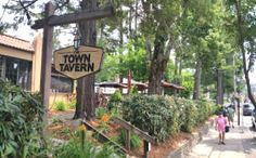 Charming Downtown Blowing Rock NC with speciality shops and restaurants