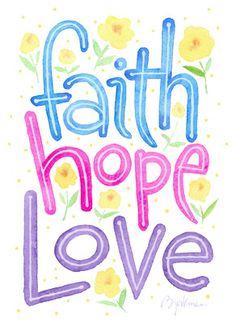 Faith Hope Love - Greatest Easter Love Card designed by Steve Bjorkman