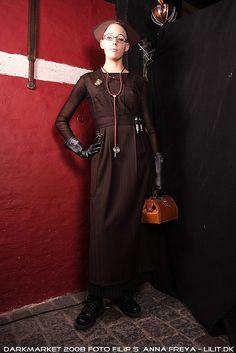 Steampunk Nurse by Miss Octobass, via Flickr