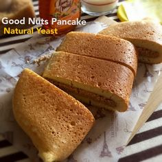 My Mind Patch: Natural Yeast Good Nuts Pancake 天然酵母碎豆馅面煎糕