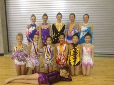 Well done girls. Provincial competition