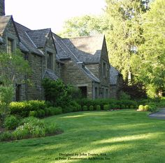 """John Toates Architecture and Design  English """"Main Line"""" Estate Addition and Renovations - Bryn Mawr, PA"""