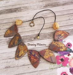 Mixed Media Techniques, Polymer Clay Jewelry, Handcrafted Jewelry, Butterfly, Drop Earrings, Beads, Instagram, Inspiration, Handmade Chain Jewelry