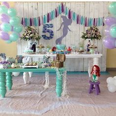 Festa linda da Ariel por @festejarearte #kikidsparty