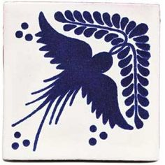 Paloma blue tile - love blue and white tile