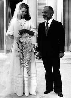 King Hussein and Queen Noor of Jordan