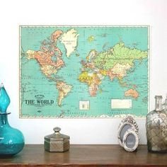 World map art print watercolor painting large watercolor world world map art print watercolor painting large watercolor world map watercolor map large wall art world map world map poster l24 products gumiabroncs Images