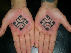 swastika tattoo :)