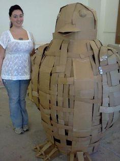 Large Cardboard sculptures