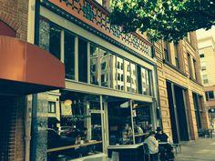 Portland Oregon coffee shop