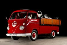 Sweet Red VW Truck...very retro & very cool