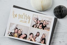 Photo Booth Templates: Holiday Sparkle Collection - Design Aglow - 6
