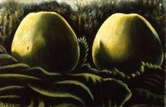 Charley Toorop-Twee appels in bladeren