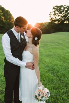 Such a beautiful moment...just before the kiss / Brett and Jessica Photography