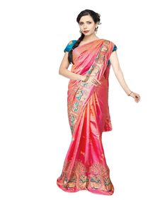 db66dc05ea2 This is a well-designed pink color latest designer saree and the fabric is  premium. Buy Designer Sarees OnlineDesigner ...