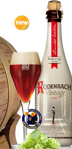 Our New Beer : Rodenbach Vintage 2013  Available at : http://store.belgianshop.com/flanders-red/1693-rodenbach-vintage-2013-7-375-cl.html  This exclusive, limited edition RODENBACH Vintage 2013 has two years matured in cask Nr. 149. The 59 year old cask was carefully selected by the Brewmaster, Rudi Ghequire, as the primus of the year.   Rodenbach Vintage is 100% matured old beer, resulting in superior Rodenbach Grand Cru. Its taste is complex, round, intense and refreshing. ...
