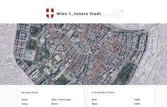 Screenshot der Landeshauptstadt Wien, Wien, auf Similio, dem mehrsprachigen Geographie- & Informationsportal über Österreich. Geographie, Wirtschaftskunde, Statistik City Photo, Statistics, Economics
