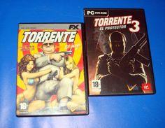 Dos juegos de PC TORRENTE y TORRENTE 3 el protector