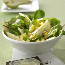 Birnen-Kaese-Salat
