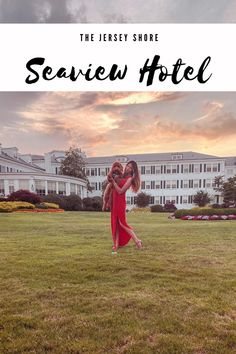 Our Stay at the Seaview Hotel on the New Jersey Shore Hotel