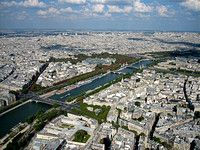 Vista desde la torre Eifel