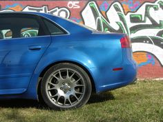 urbanartbomb #graffiti #bombing #graff #streetart - http://urbanartbomb.com/audi-s4-rear-side-profile-with-graffiti/ - graffiti - Urban Art Bomb