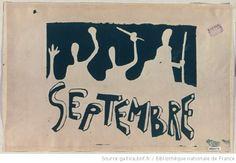 [Mai 1968]. Septembre, [juillet 1968] : [affiche]