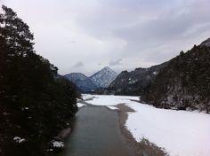 Amariana con la neve... Loc. Invillino (UD)