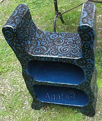 1000 images about paper moon paper mache on pinterest for Paper mache furniture ideas