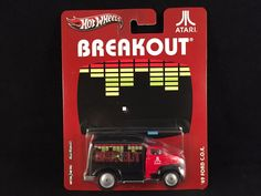 2012 Hot Wheels Pop Culture Nostalgia Atari 49 FORD COE Breakout Red Truck RR #HotWheels #Ford