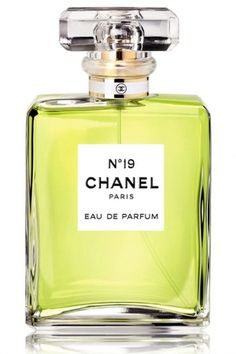 "Chanel No 19  Opening with green galbanum, a hint of iris and drying to a vetiver oakmoss coolness that never ends or fades. For the   "" Let's get down to business"" woman."