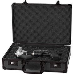 Classic Safari Aluminum Pistol Handgun Case Accessories 2 Combination Lock   eBay